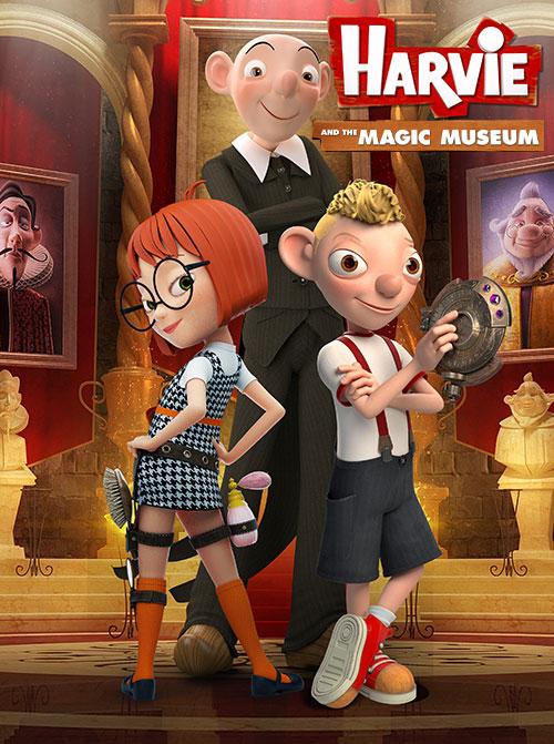 دانلود دوبله فارسی انیمیشن هاروی و موزه جادویی Harvie and the Magic Museum 2017