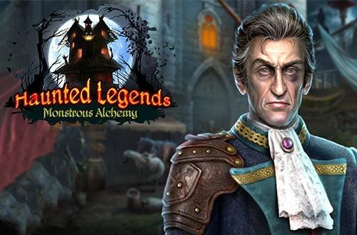 دانلود بازی Haunted Legends 12: Monstrous Alchemy Collector's Edition