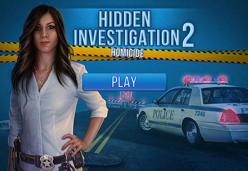 دانلود بازی فکری Hidden Investigation 2: Homicide Final