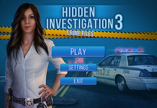 دانلود بازی فکری Hidden Investigation 3: Crime Files Final