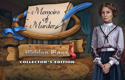 دانلود بازی Memoirs of Murder: Welcome to Hidden Pines Collector's Edition