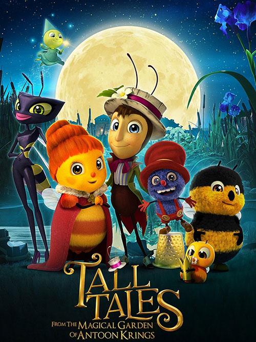 دانلود انیمیشن داستان های بلند باغ جادویی آنتون کریگز با دوبله فارسی Tall Tales from the Magical Garden of Antoon Krings 2017
