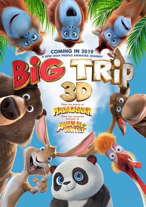 دانلود انیمیشن سفر بزرگ The Big Trip 2019 با دوبله فارسی