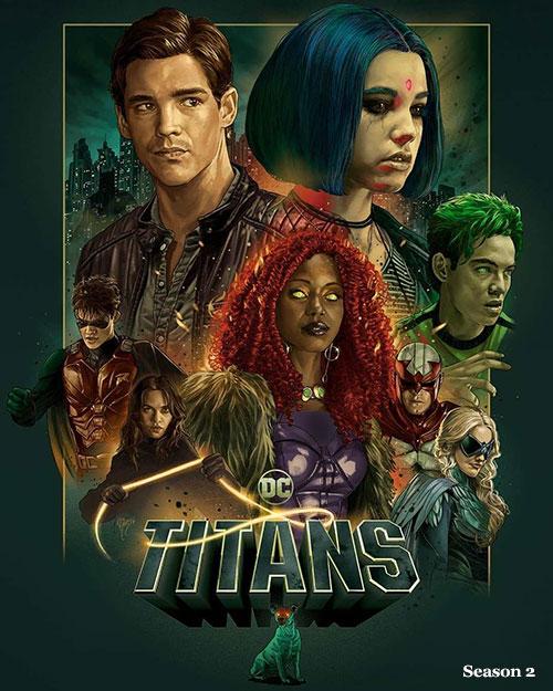 دانلود فصل دوم سریال تایتان ها Titans Season 2 2019 با دوبله فارسی