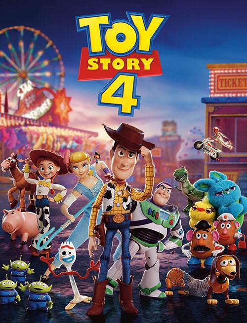 دانلود انیمیشن داستان اسباببازی ۴ Toy Story 4 2019 WEB-DL
