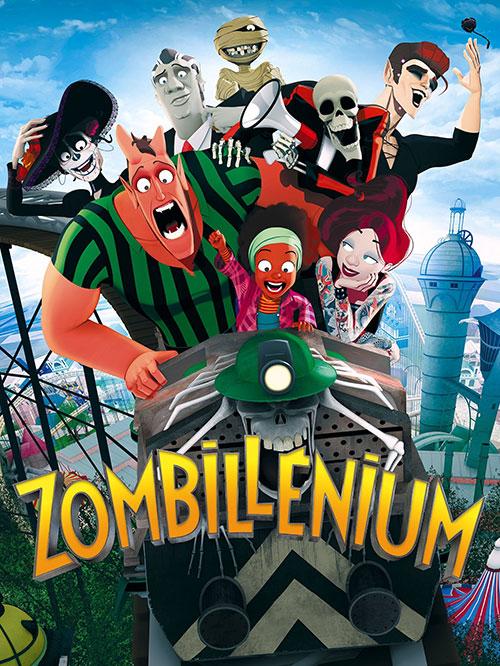 دانلود انیمیشن زامبلنیوم Zombillenium 2017