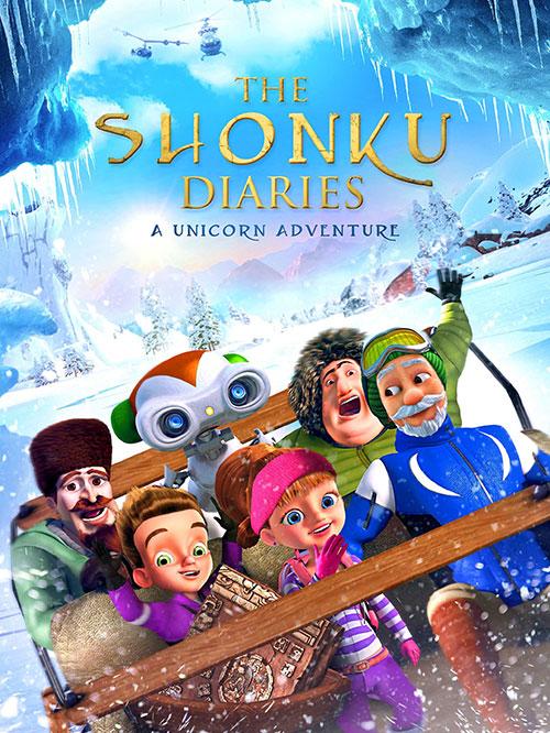 دانلود انیمیشن ماجراجویی یونیکو The Shonku Diaries: A Unicorn Adventure 2017