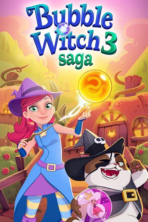 دانلود بازی Bubble Witch 3 Saga برای اندروید