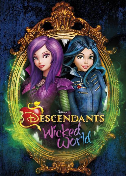 دانلود فصل اول انیمیشن فرزندان: دنیای شرور Descendants: Wicked World 2015