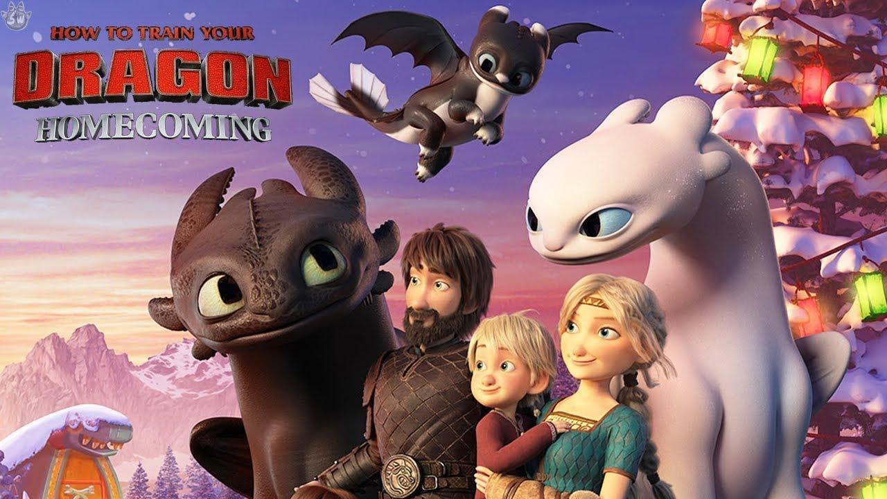 انیمیشن مربی اژدها ۴ دوبله فارسی How to Train Your Dragon Homecoming 2019