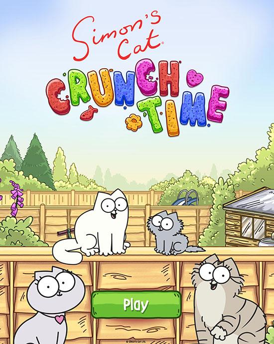 دانلود بازی Simon's Cat Crunch Time 1.40.0 برای اندروید