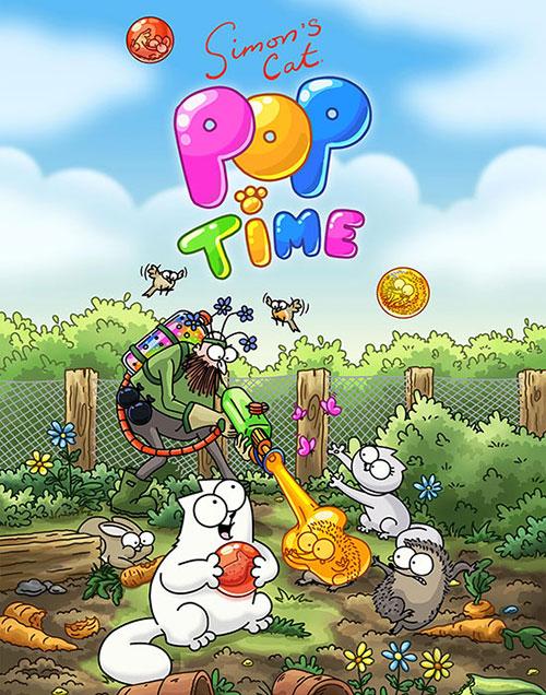 دانلود بازی Simon's Cat Pop Time 1.20.0 برای اندروید