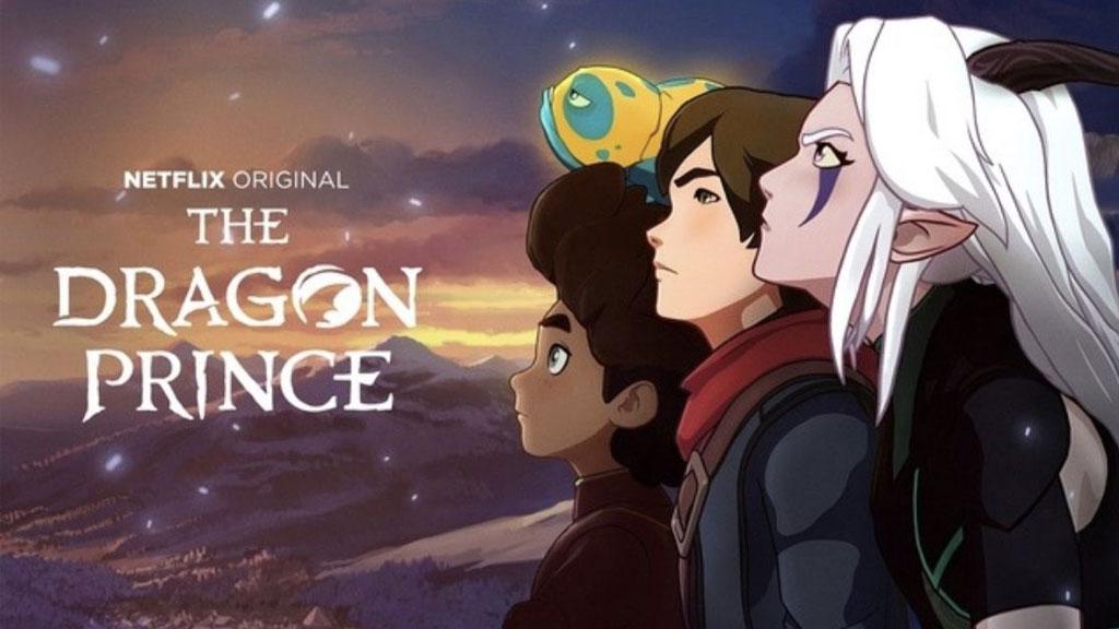دانلود فصل سوم انیمیشن شاهزاده اژدها The Dragon Prince 2019