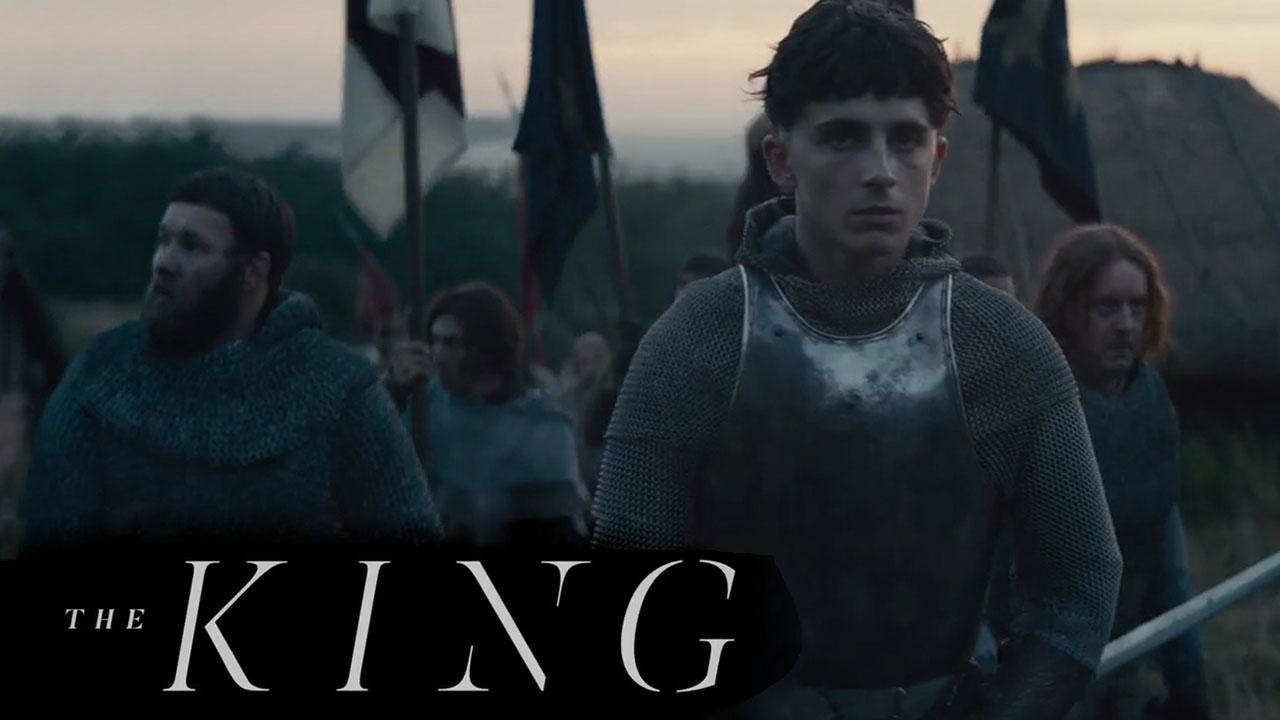 دانلود فیلم  پادشاه با دوبله فارسی 2019 The King