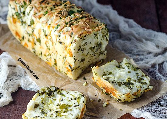 طرز تهیه کیک پنیر و جعفری