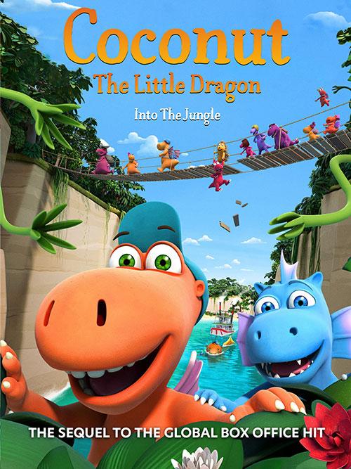 دانلود انیمیشن Coconut the Little Dragon 2: Into the Jungle 2018