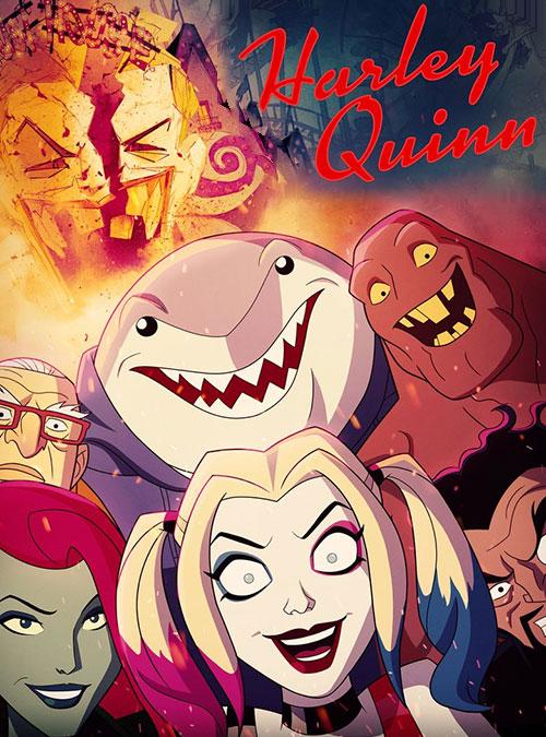 دانلود فصل اول کارتون هارلی کوئین Harley Quinn 2019