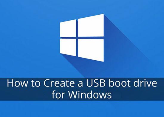 ساخت حافظه فلش بوتیبل Bootable USB