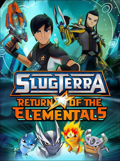 دانلود انیمیشن اسلاگترا Slugterra: Return of the Elementals 2014