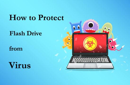 آموزش جلوگیری از ویروسی شدن حافظه فلش