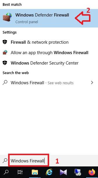 مسدود کردن دسترسی برنامه ها به اینترنت با Windows Firewall