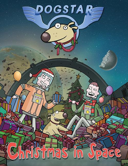 دانلود انیمیشن داگ استار: کریسمس در فضا Dogstar: Christmas in Space 2016