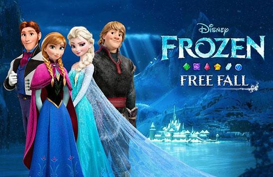 دانلود بازی Disney Frozen Free Fall 8.6.0 برای اندروید