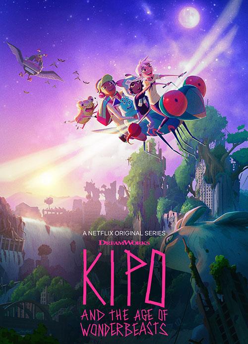 فصل اول انیمیشن کیپو و عصر هیولاهای عجیب Kipo and the Age of Wonderbeasts