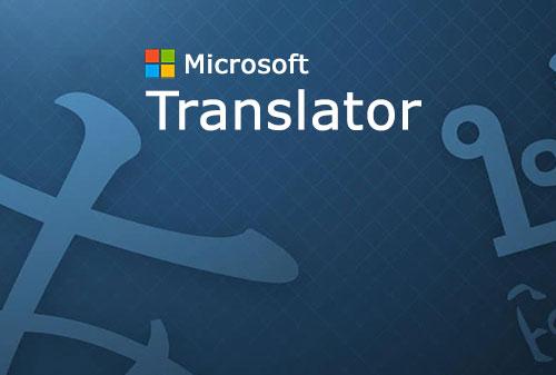 مترجم مایکروسافت برای اندروید Microsoft Translator 3.3.436i