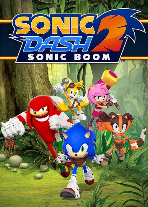 دانلود بازی سونیک دش ۲ برای اندروید Sonic Dash 2: Sonic Boom 1.9.0