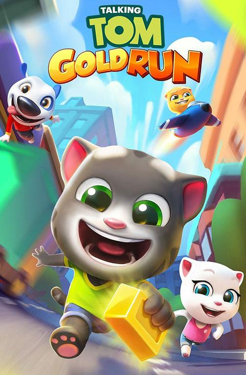 دانلود بازی Talking Tom Gold Run 4.0.0.477 برای اندروید
