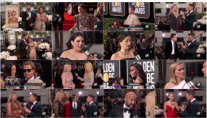 دانلود مراسم فرش قرمز گلدن گلوب Golden Globe Awards Red Carpet 2020