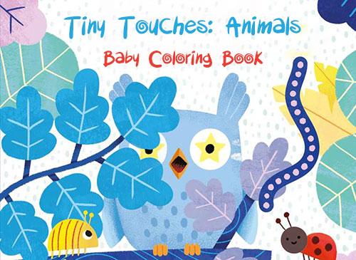 اپلیکیشن کتاب رنگ آمیزی کودکان Tiny Touches: Animals Baby Coloring Book 1.0.1