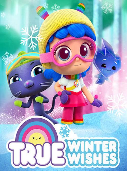 دانلود دوبله فارسی انیمیشن آرزوهای زمستانی True: Winter Wishes 2019