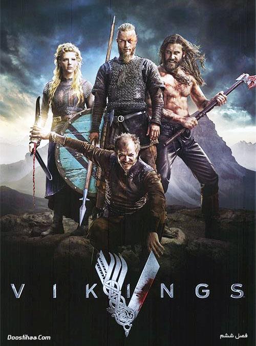 دانلود فصل ششم سریال وایکینگ ها با دوبله فارسی Vikings 2019