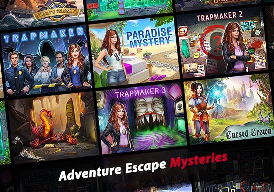 دانلود بازی Adventure Escape Mysteries v8.03 برای اندروید