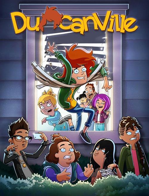 دانلود فصل اول انیمیشن دانکنویل Duncanville TV Series 2020