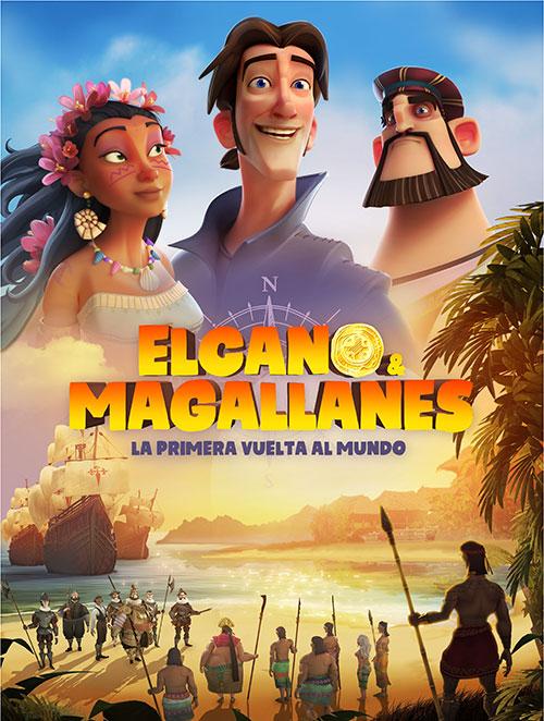 دانلود انیمیشن الکانو و ماژلان: اولین سفر دور دنیا Elcano & Magellan 2019