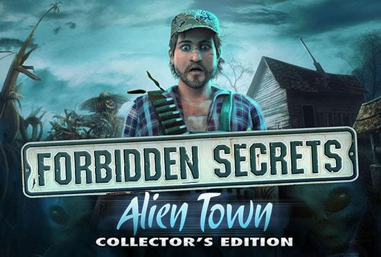 دانلود بازی Forbidden Secrets: Alien Town Collector's Edition