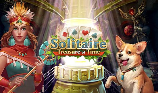 دانلود بازی Solitaire Treasure of Time 1.71 برای اندروید