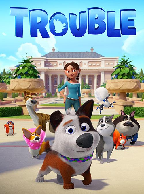 دانلود انیمیشن دردسر Trouble 2019