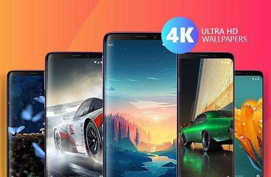 دانلود والپیپرهای اچ دی با اپلیکیشن Wallpapers Ultra HD 4K v4.2