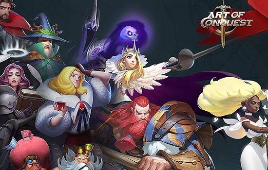 دانلود بازی آنلاین Art of Conquest: Dark Horizon v1.23.10 برای اندروید