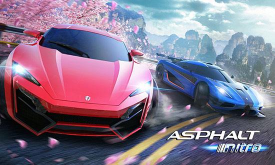 دانلود بازی Asphalt Nitro v1.7.3 برای اندروید