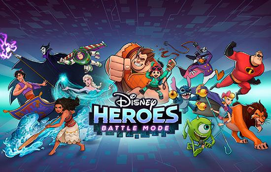 دانلود بازی Disney Heroes: Battle Mode 1.16.11 برای اندروید