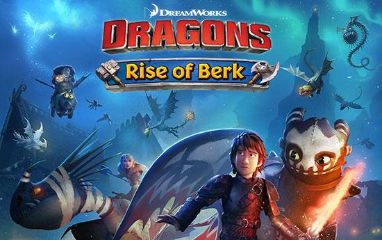 دانلود بازی Dragons: Rise of Berk v1.46.27 برای اندروید