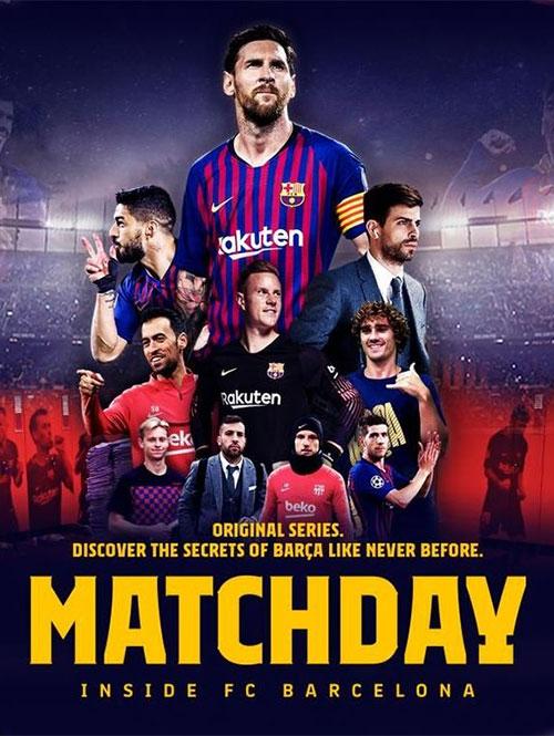 دانلود دوبله فارسی مستند روز بازی Matchday: Inside FC Barcelona 2019