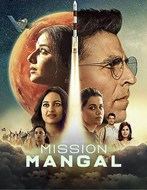 دانلود فیلم عملیات مریخ با دوبله فارسی Mission Mangal 2019