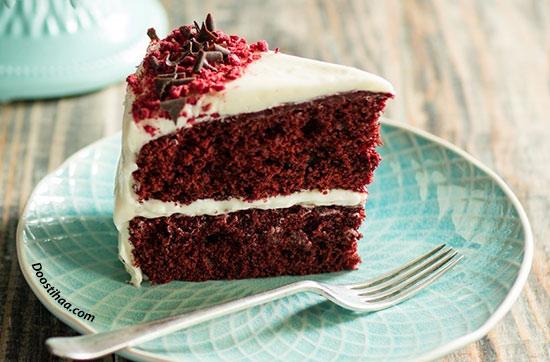 طرز تهیه کیک مخملی