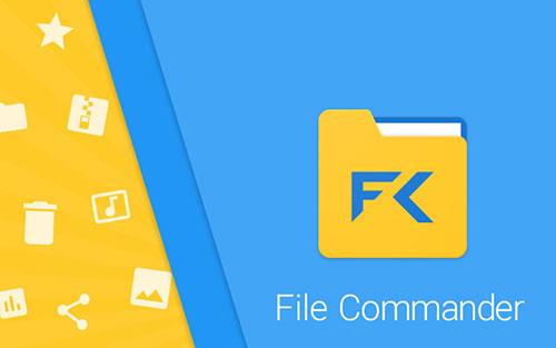 مدیریت فایل با اپلیکیشن فایل کامندر File Commander v6.5.34427